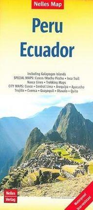 PERU - ECUADOR [1:2.500.000] -NELLES VERLAG