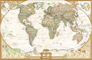 622086 S ESP WORLD EXECUTIVE GRAN [CAS] [MUNDO MURAL]-NATIONAL GEOGRAPHIC