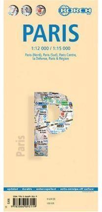 PARIS 1:12.000 / 1:15.000 -BORCH MAP