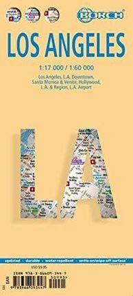 LOS ANGELES 1:17.000/1:60.000 -BORCH MAP