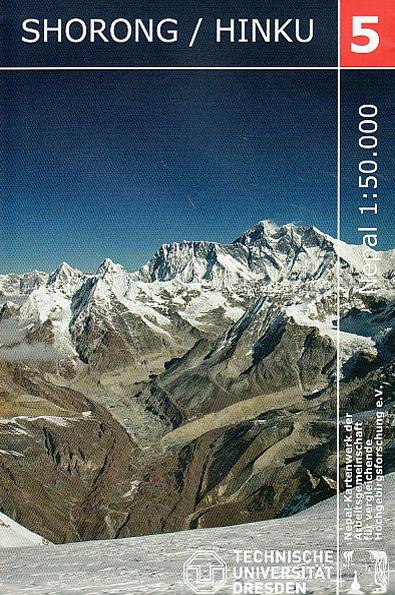 5. SHORONG / HINKU (1:50.000) -TECHNISCHE UNIVERSITAT DRESDEN