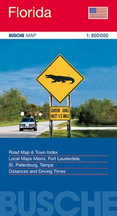 FLORIDA 1:800.000 -BUSCHE MAP
