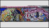 DIE BERLINER MAUER / THE BERLIN WALL -PANORAMA