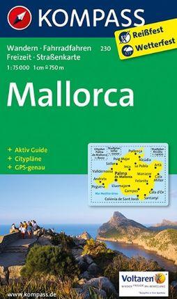 230 MALLORCA 1:75.000 -KOMPASS