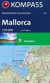 2753 MALLORCA ATLAS 1:35.000 -KOMPASS