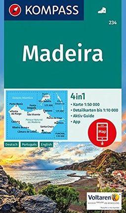 234 MADEIRA 1:50.000 -KOMPASS