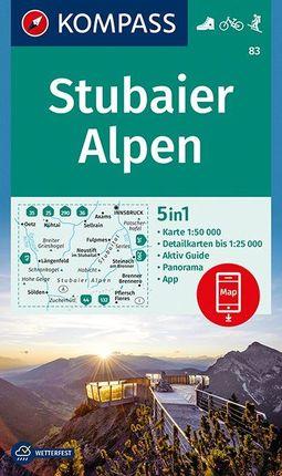 83 STUBAIER ALPEN 1:50.000 -KOMPASS