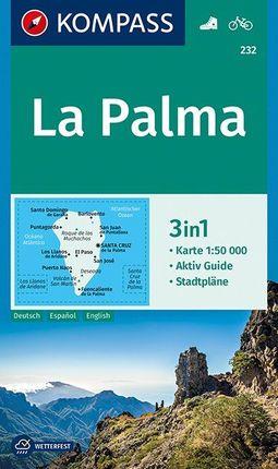 232 LA PALMA 1:50.000 -KOMPASS