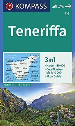 233 TENERIFFA 1:50.000 -KOMPASS