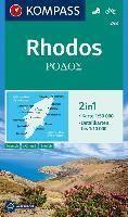 248 RHODOS 1:50.000 -KOMPASS
