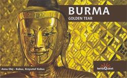 BURMA, A GOLDEN TEAR -TERRAQUEST EXPRESSMAP