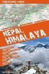 NEPAL HIMALAYA 1:100.000 TREKKING MAP TERRAQUEST