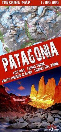 PATAGONIA 1:160.000 TREKKING MAP -TERRAQUEST