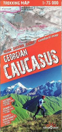 GEORGIAN CAUCASUS 1:75.000 -TREKKING MAP