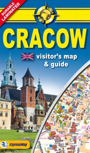 CRACOW 1:20.000 -MINI COMFORT MAP EXPRESSMAP