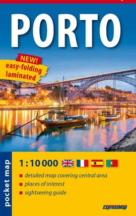 PORTO 1:10.000 CITY POCKET (PLASTIFICAT)