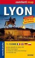 LYON 1:15.000 -COMFORT MAP [CARTE DE POCHE]