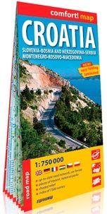 CROATIA 1:750.000 PLASTIFICADO -EXPRESSMAP