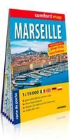 MARSEILLE 1:15.000 CITY POCKET [PLASTIFICAT] -COMFORT MAP