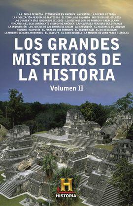 GRANDES MISTERIOS DE  HISTORIA
