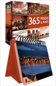 365 MIRADAS AL MUNDO (CALENDARIO PERPETUO - ESPIRAL)