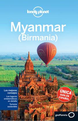 MYANMAR (BIRMANIA) -GEOPLANETA -LONELY PLANET
