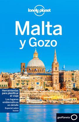 MALTA Y GOZO -GEOPLANETA -LONELY PLANET