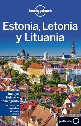 ESTONIA, LETONIA Y LITUANIA -GEOPLANETA -LONELY PLANET