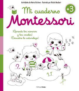 CUADERNO DE VACACIONES MONTESSORI +3