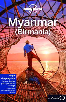 MYANMAR -GEOPLANETA -LONELY PLANET