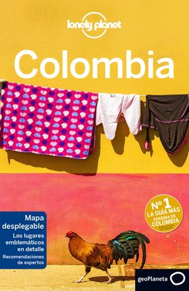 COLOMBIA -LONELY PLANET -GEOPLANETA