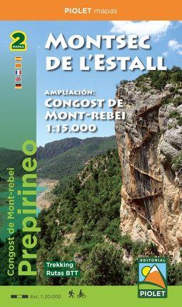 MONTSEC DE L'ESTALL 1:20.000 / CONGOST DE MONT-REBEI 1:15.000 -PIOLET
