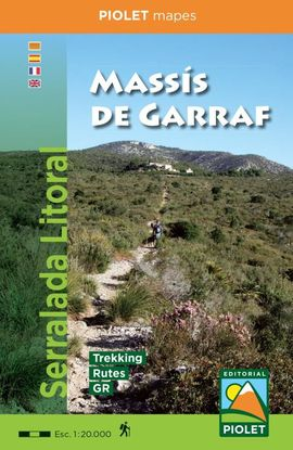 MASSIS DE GARRAF 1:20.000 -PIOLET