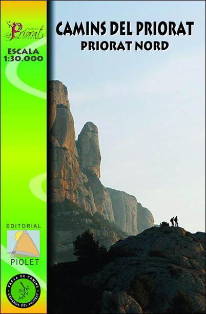 CAMINS DEL PRIORAT - NORD 1:30.000 -PIOLET