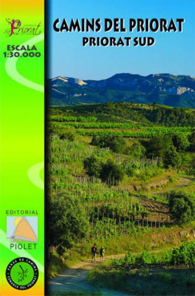 CAMINS DEL PRIORAT - SUD 1:30.000 -PIOLET