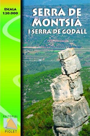 SERRA DE MONTSIA I SERRA DE GODALL 1:20.000 -PIOLET