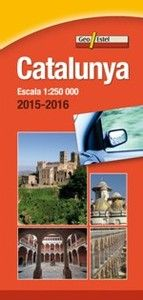 2015-2016 CATALUNYA 1:250.000 -GEO ESTEL