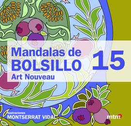 15. MANDALAS DE BOLSILLO - ART NOUVEAU