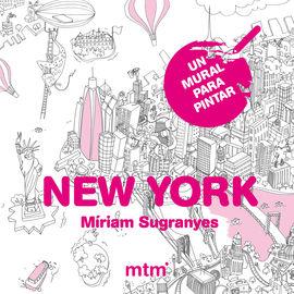 NEW YORK -UN MURAL PARA PINTAR (80X60)