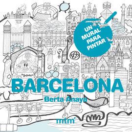 BARCELONA -UN MURAL PARA PINTAR (80X60)