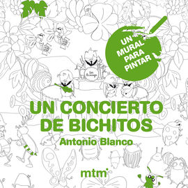 UN CONCIERTO DE BICHITOS -UN MURAL PARA PINTAR (60X80)