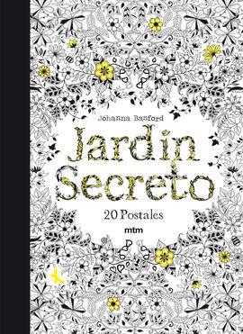 JARDÍN SECRETO [20 POSTALES]
