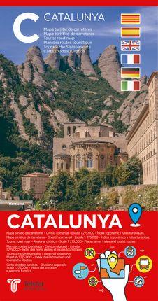 CATALUNYA [1:275.000] MAPA TURÍSTIC DE CARRETERES -TELSTAR
