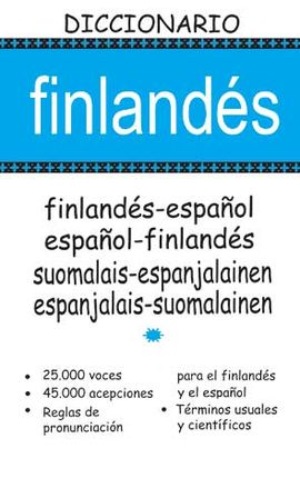 DICCIONARIO FINLANDÉS-ESPAÑOL / ESPAÑOL-FINLANDÉS