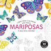 MARIPOSAS -LIBRO PARA COLOREAR. ARTE-TERAPIA