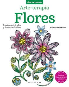FLORES. ARTE-TERAPIA
