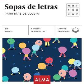 SOPAS DE LETRAS PARA DÍAS DE LLUVIA