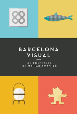 BARCELONA VISUAL - POSTALES