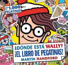 DÓNDE ESTÁ WALLY? LIBRO DE PEGATINAS