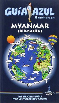 MYANMAR- GUIA AZUL